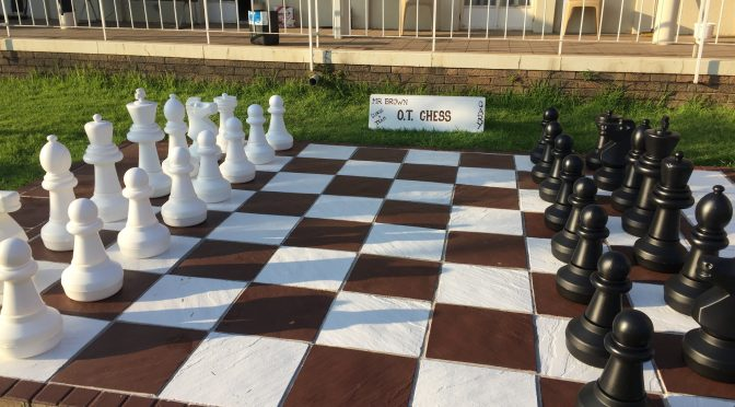 Wedge Garden's kings and their queen beat boredom