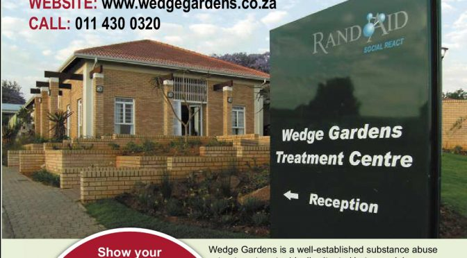 Wedge Gardens: Committed to fighting substance abuse