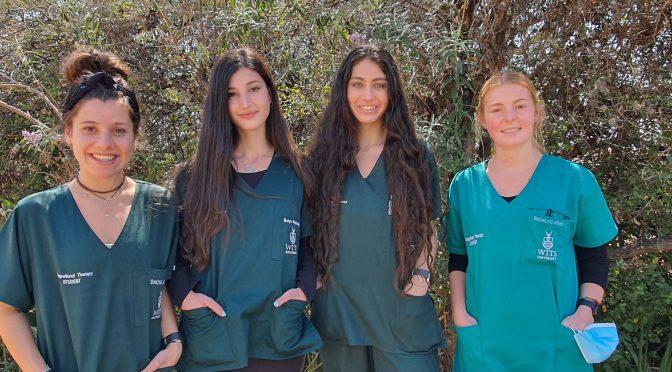 SANCA Wedge Gardens welcomes OT students